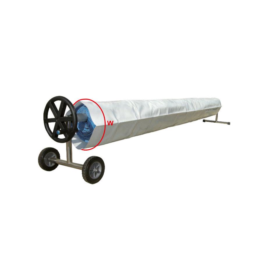 Bomba de calor con cobertor para piscina 4x8m-5