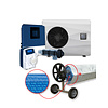 Cristal Blue Heating with watertreatment for swimming pool 4x8m