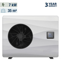 thumb-Heat pump with solar cover for swimming pool 3x7m-2