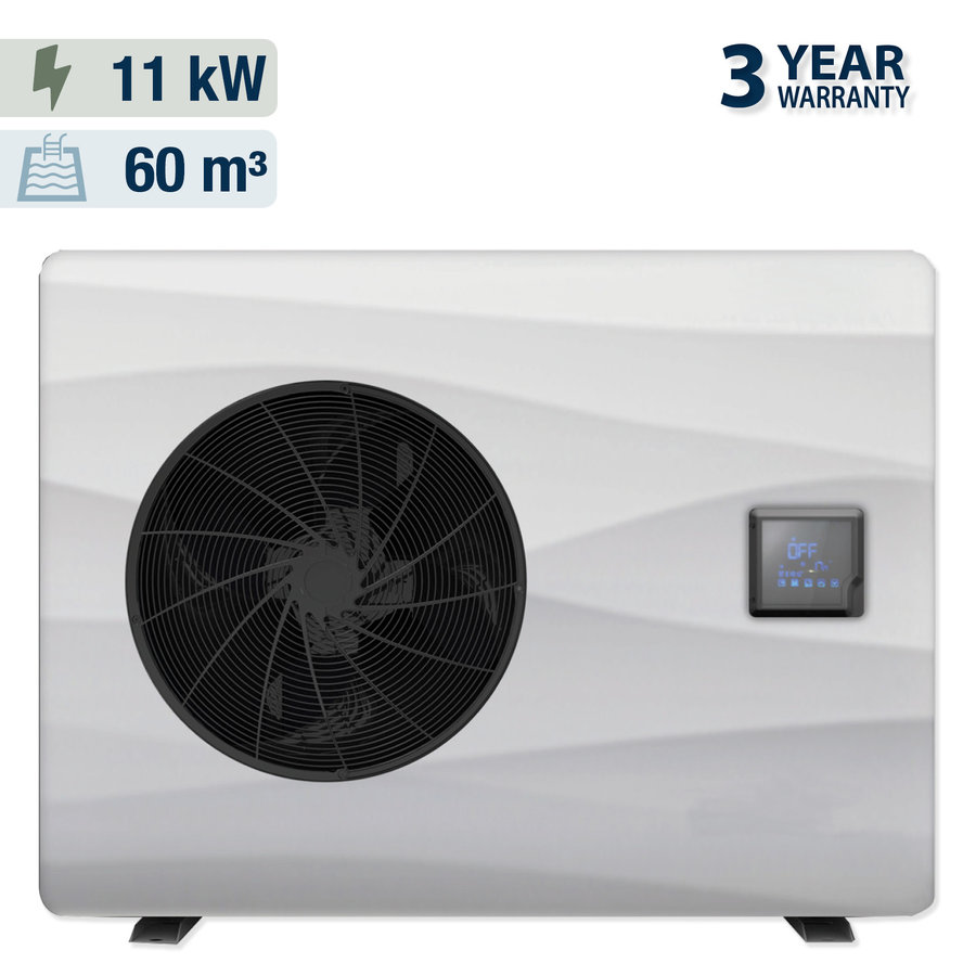Heat pump with cover for swimming pool 4x8m-2