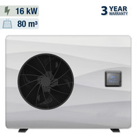 thumb-Heat pump with solar cover for swimming pool 5x10m-2