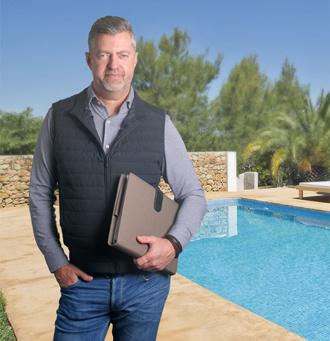 Peter Cristal Blue zwembaden Spanje
