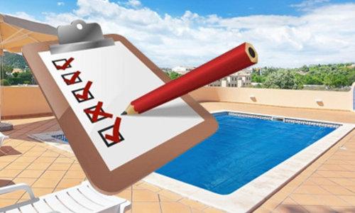 Inspecciones de piscinas