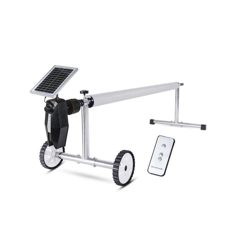 Enrollador  controlado por paneles solares-1