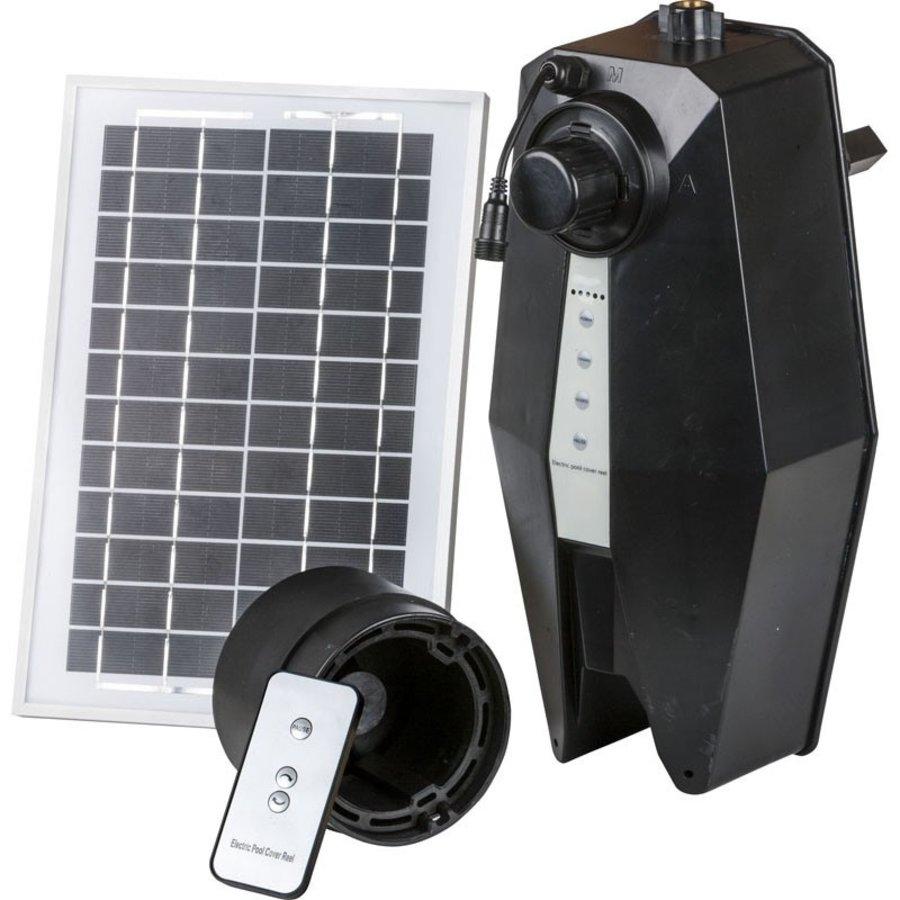 Enrollador  controlado por paneles solares-3