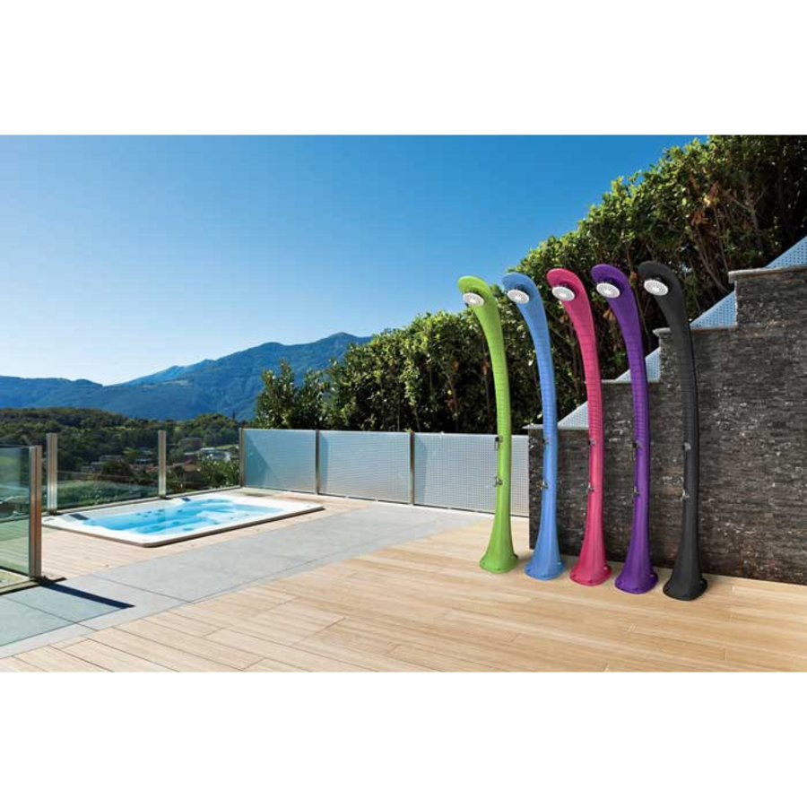 Zonne-energie douche voor tuin of terras-2