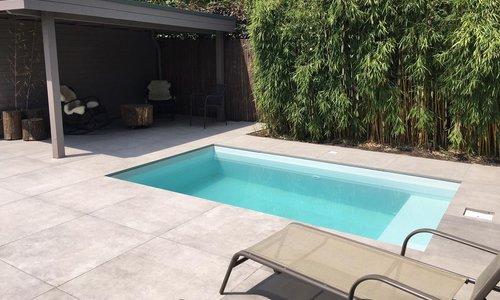 Built-up or built-in pool?