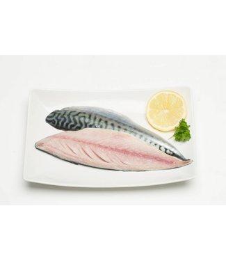 Verse Makreelfilet met huid 500 gram