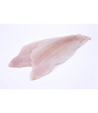 Tongschar filet zonder huid  (500 gram)