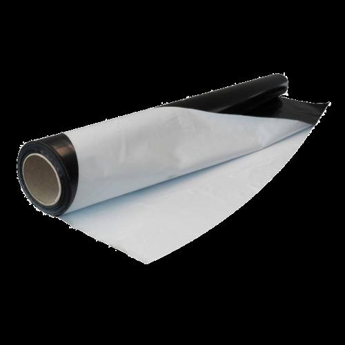 Black-white foil 2 mtr wide per mtr