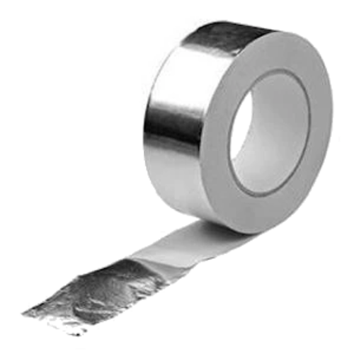Aluminum tape for use in combination with anti detection foil