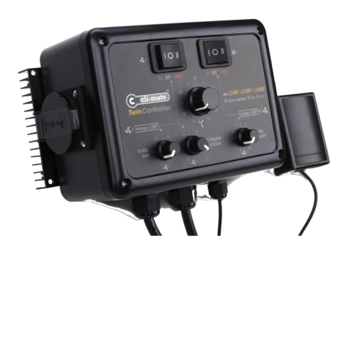 Cli-mate Climate Twin Controller 4+4 amp
