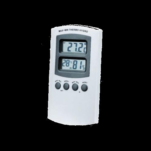 Thermo- Hygrometer white (mini-maxi)