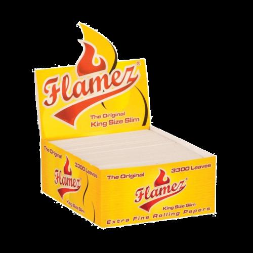 Flamez Flamez King Size Slim Papers 3300pcs