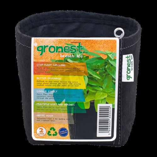 Gronest Gronest Aqua Breath - Fabric pot | 1ltr ~ 75ltr