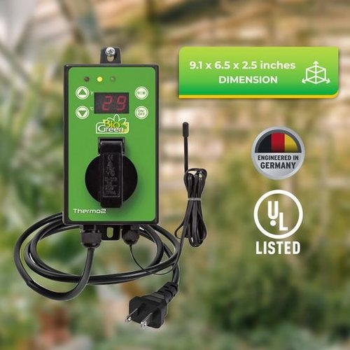Biogreen Biogreen Thermo2Digital - Zomer / Winter Thermostaat