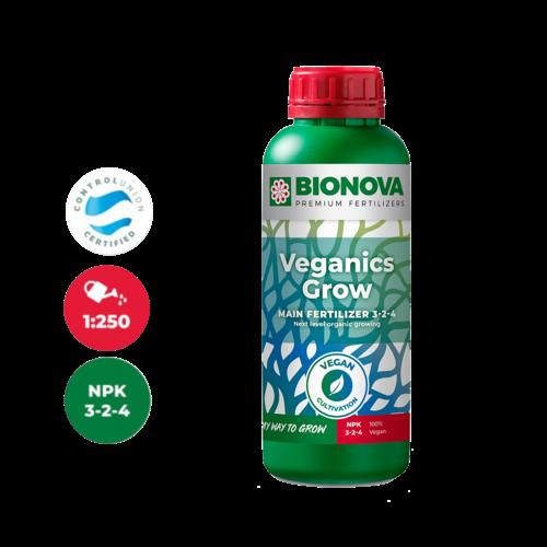 Bio Nova Bio Nova Veganics Grow ~ Basic Nutriënt