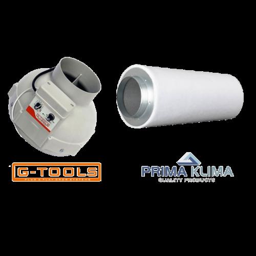 G-Tools G-tools Mini Fan + PK2600 Mini 185m3/h ~ Combo Deal