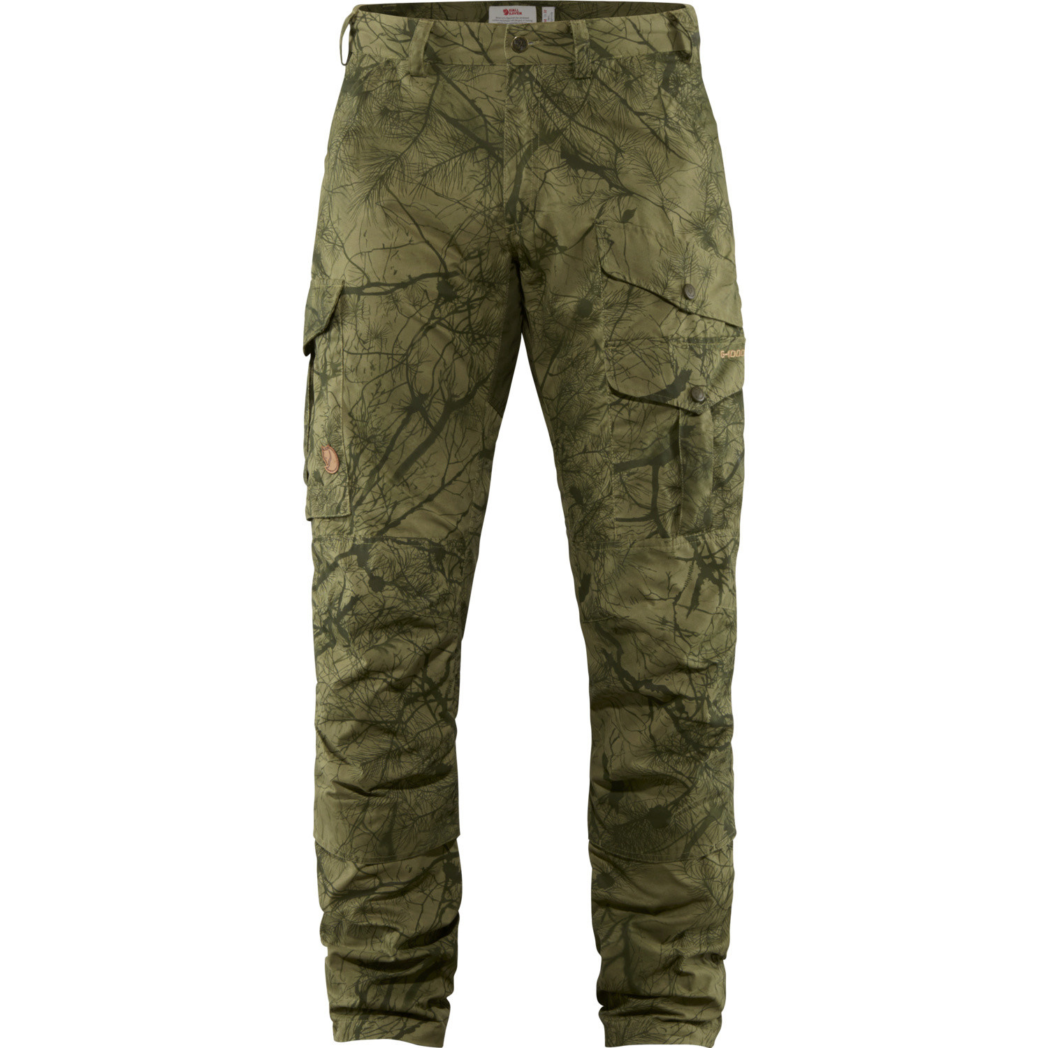 Fjällräven Barents Pro Hunting Trousers M Green Camo-Deep Forest-1