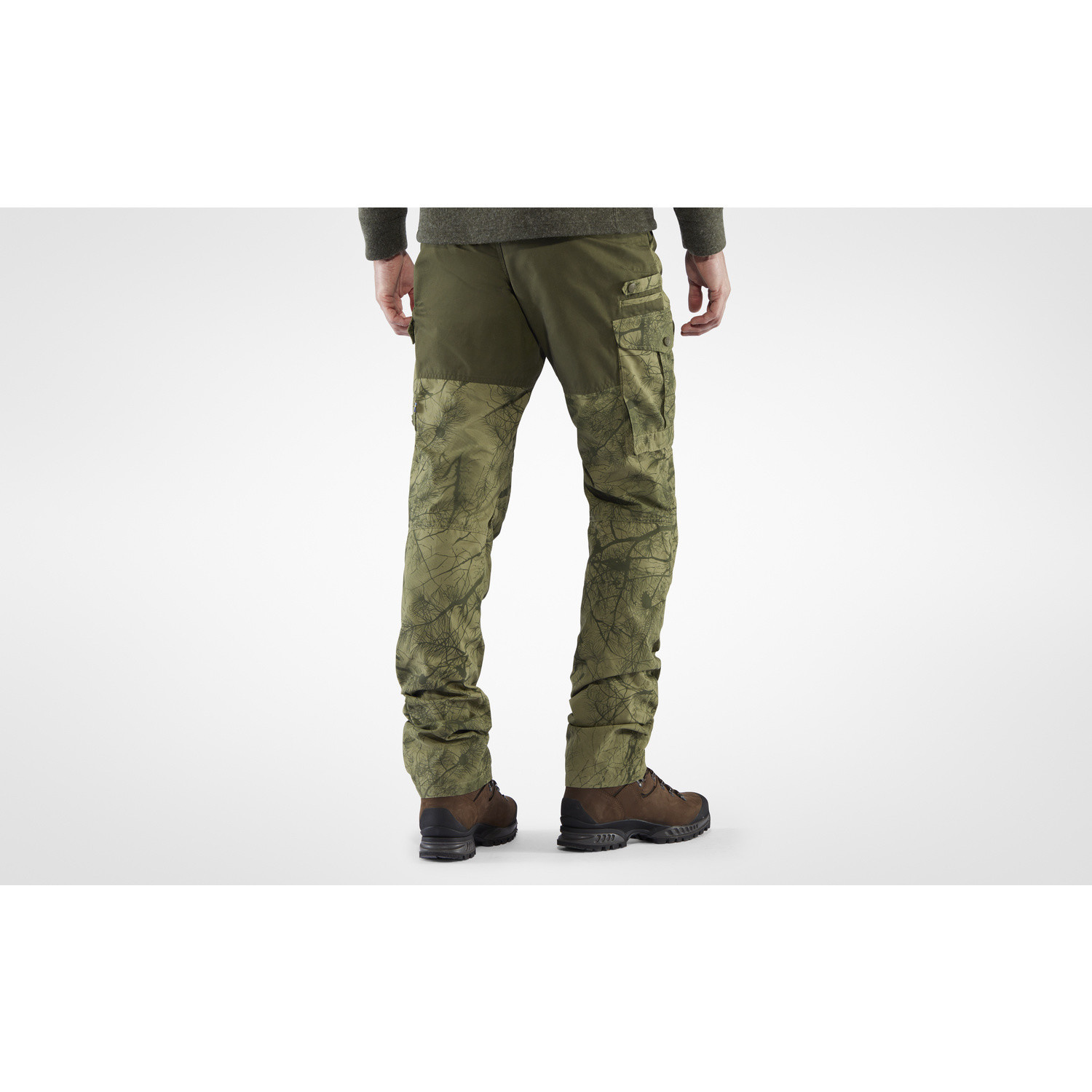 Fjällräven Barents Pro Hunting Trousers M Green Camo-Deep Forest-6