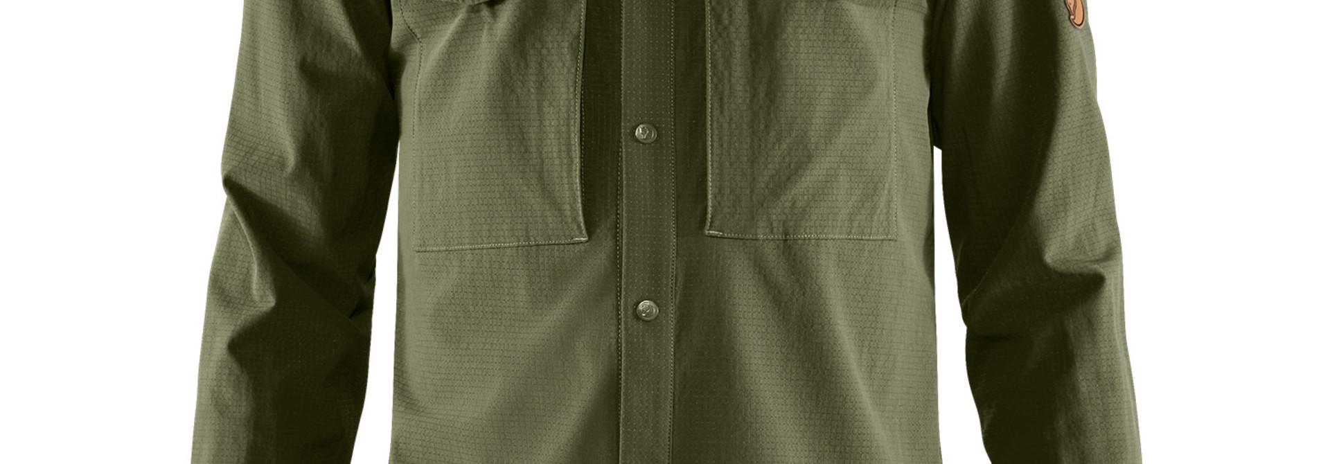 Fjällräven Abisko Trekking Shirt M Laurel Green