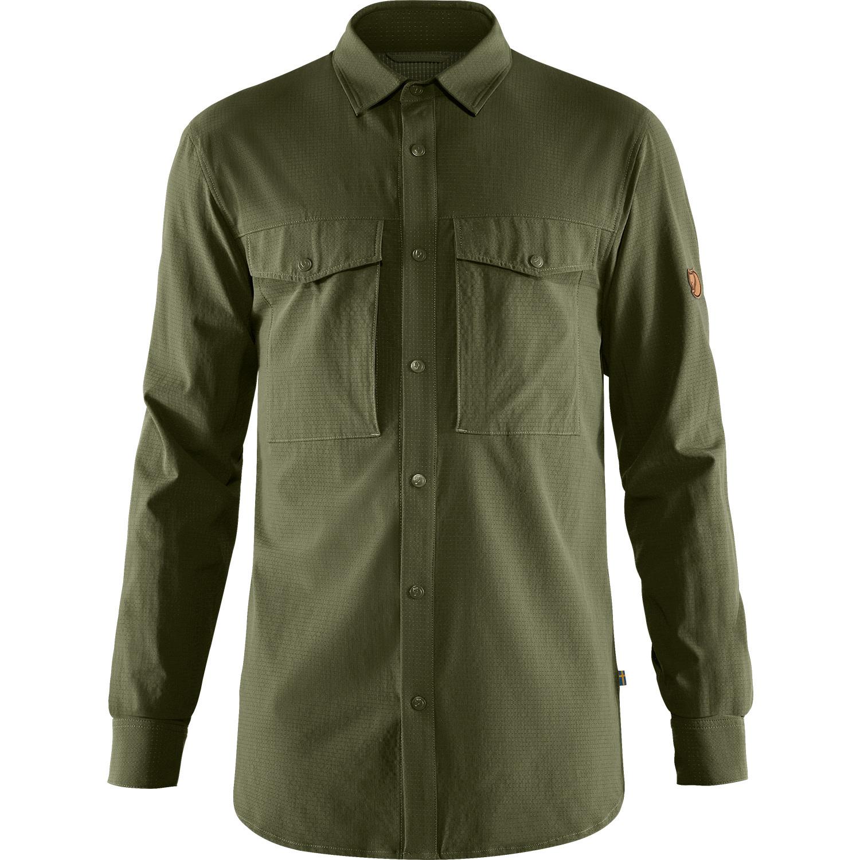 Fjällräven Abisko Trekking Shirt M Laurel Green-1