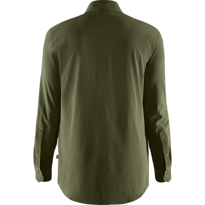 Fjällräven Abisko Trekking Shirt M Laurel Green-2