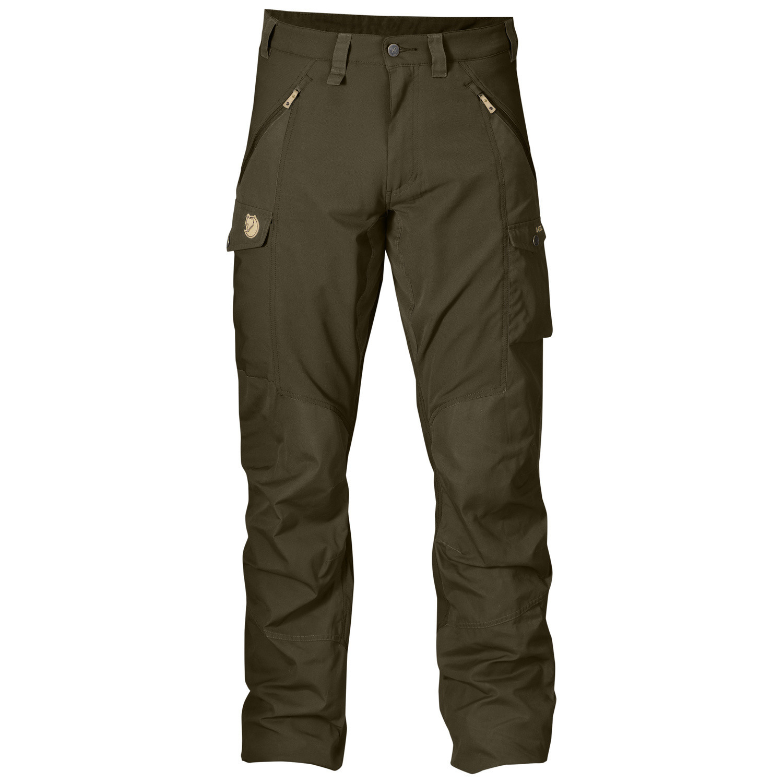 Fjällräven Abisko Trousers M Dark Olive-1