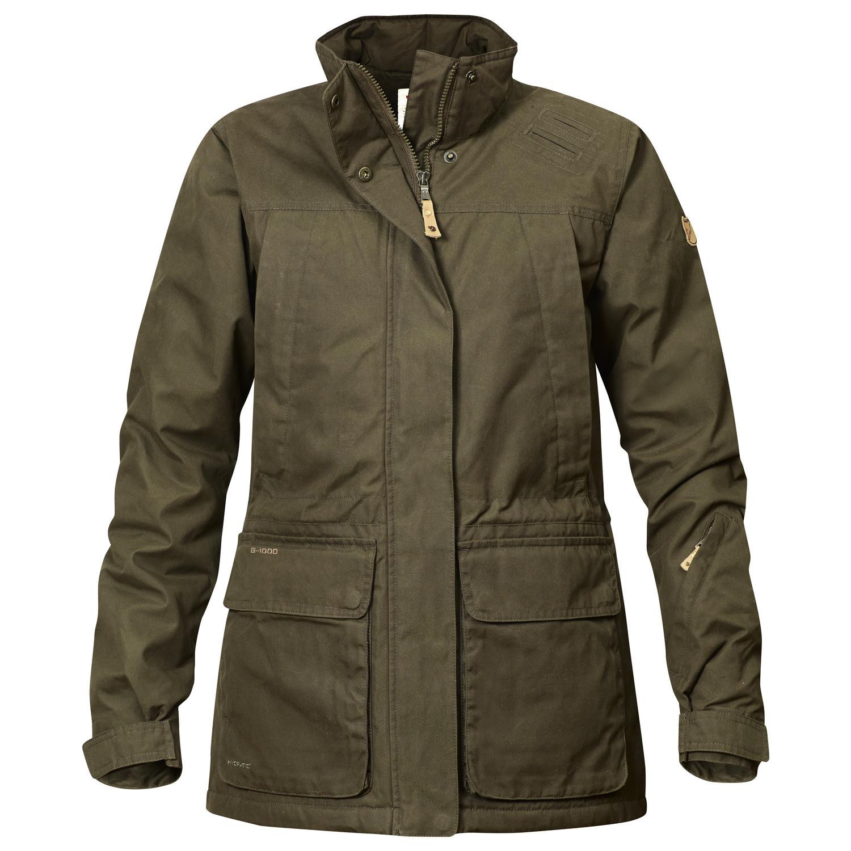 Fjällräven Brenner Pro Padded Jacket W Dark Olive-1