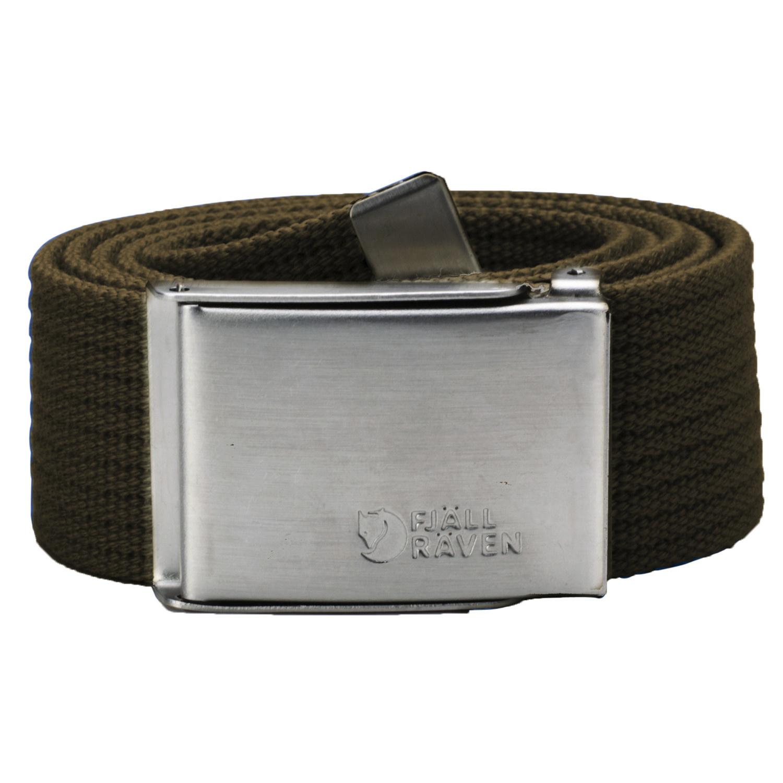 Fjällräven Canvas Belt Dark Olive-1