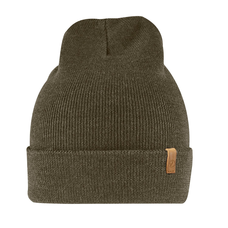 Fjällräven Classic Knit Hat Dark Olive-1