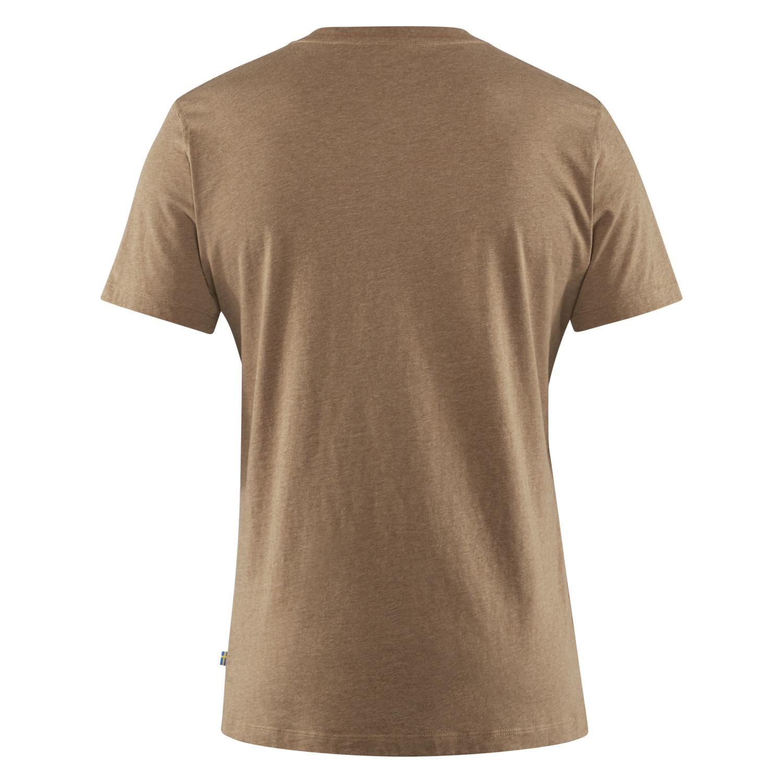 Fjällräven Deer Print T-shirt M Dark Sand-2