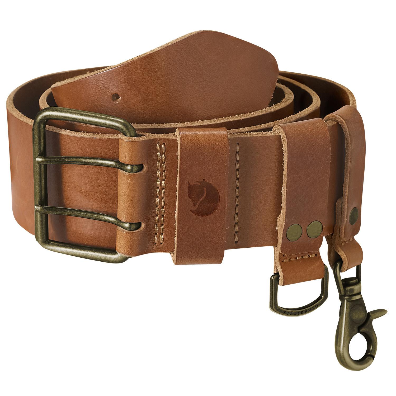 Fjällräven Equipment Belt Leather Cognac-1