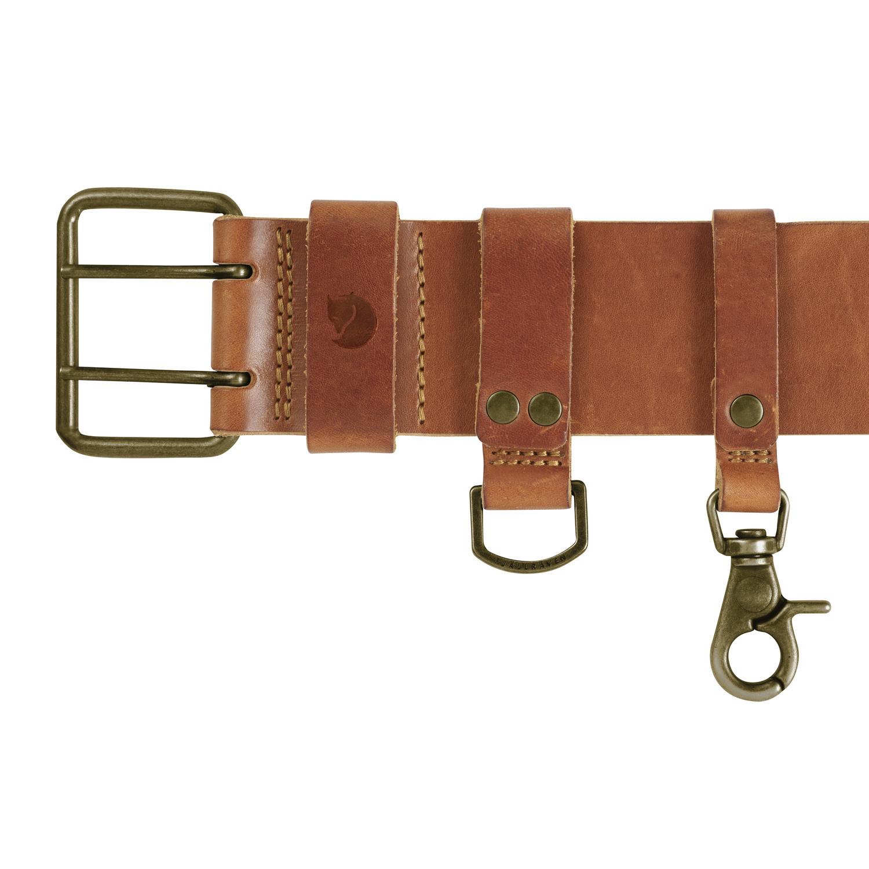 Fjällräven Equipment Belt Leather Cognac-2