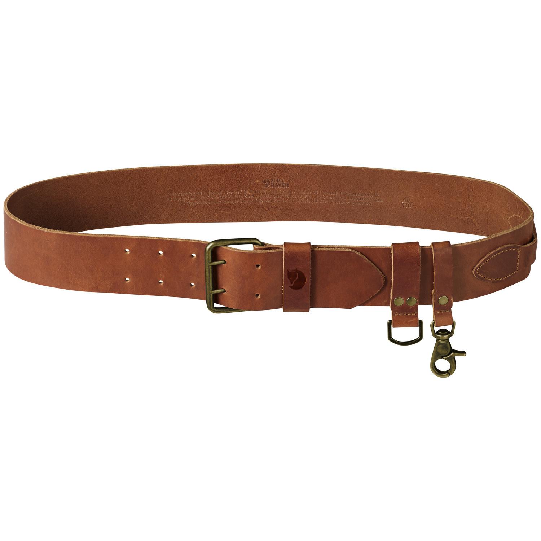 Fjällräven Equipment Belt Leather Cognac-4