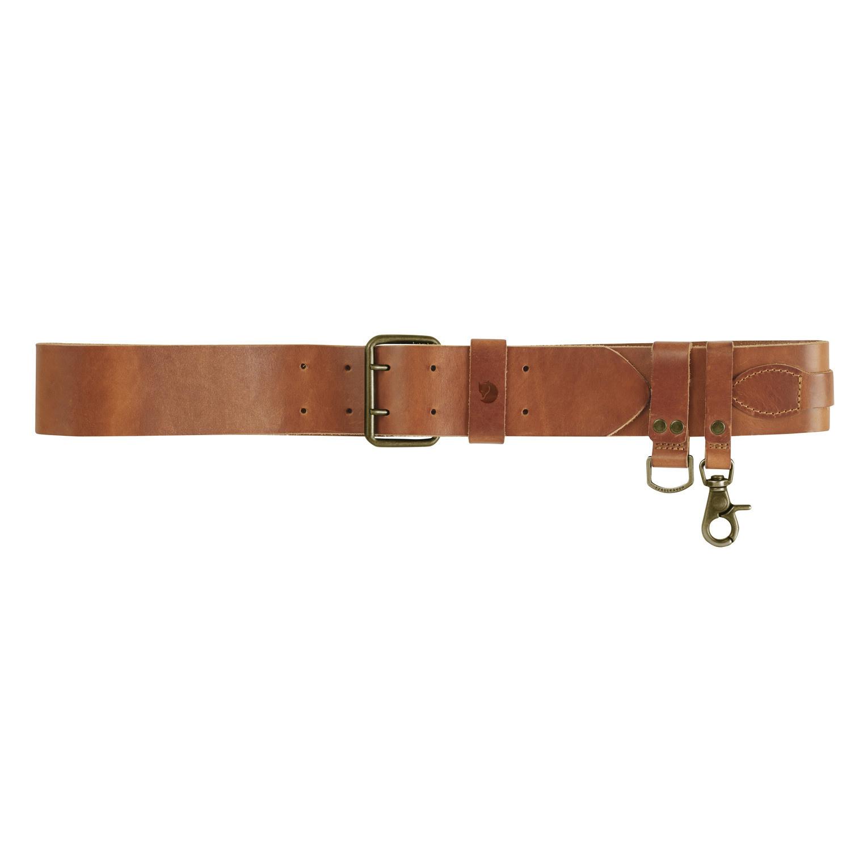 Fjällräven Equipment Belt Leather Cognac-5