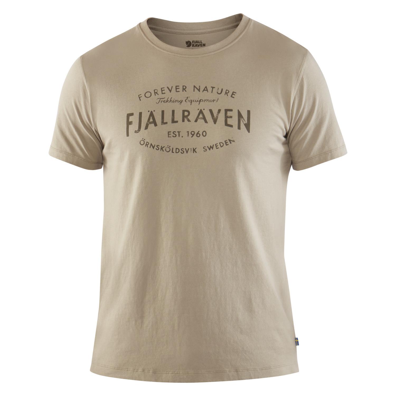 Fjällräven Est. 1960 T-Shirt M Fog-1