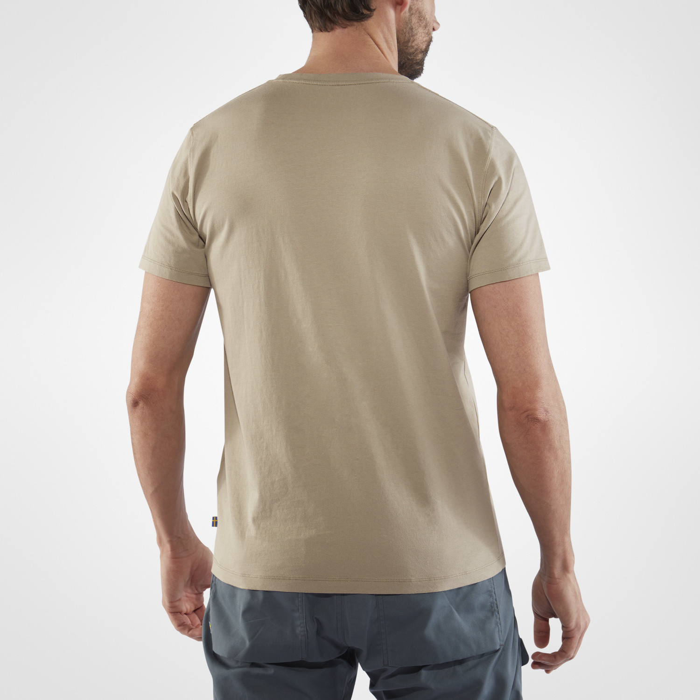 Fjällräven Est. 1960 T-Shirt M Fog-4