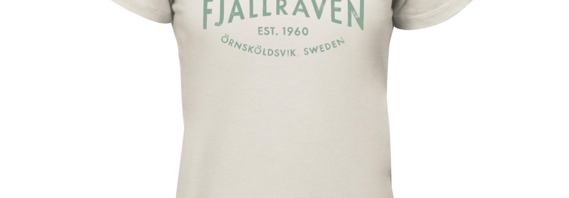 Fjällräven Est. 1960 T-Shirt W Chalk