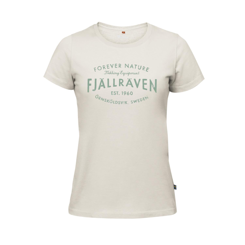 Fjällräven Est. 1960 T-Shirt W Chalk-1