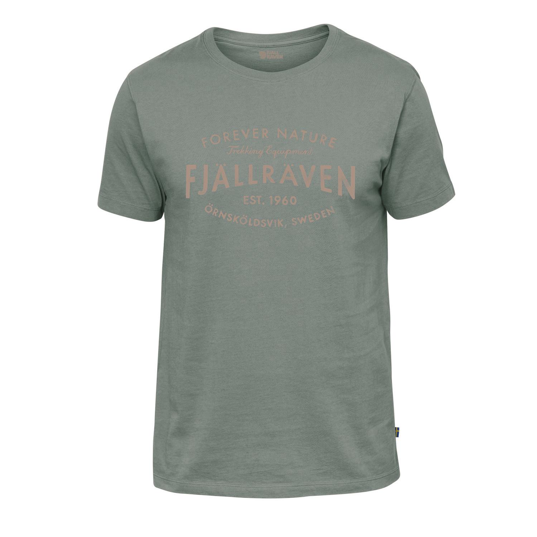 Fjällräven Est. 1960 T-Shirt M Sage Green-1