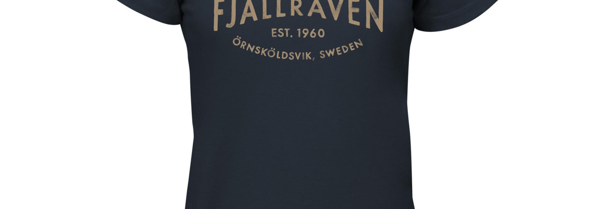 Fjällräven Est. 1960 T-Shirt W Navy