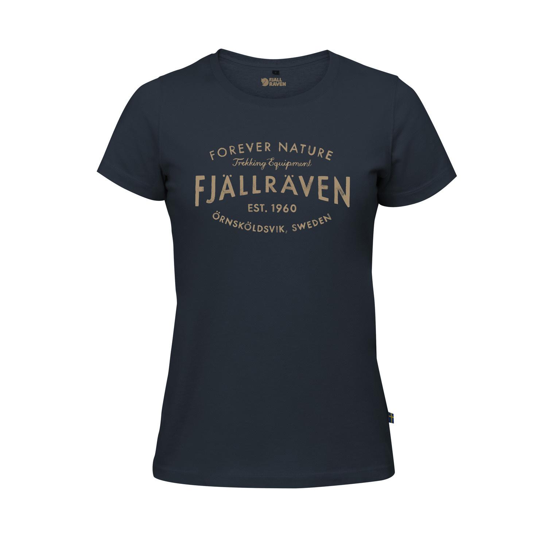 Fjällräven Est. 1960 T-Shirt W Navy-1