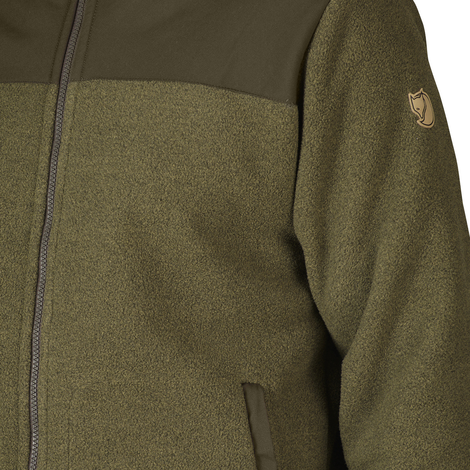 Fjällräven Forest Fleece Jacket M Tarmac-3