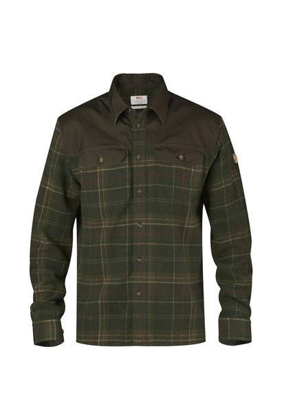 Fjällräven Granit Shirt M Green