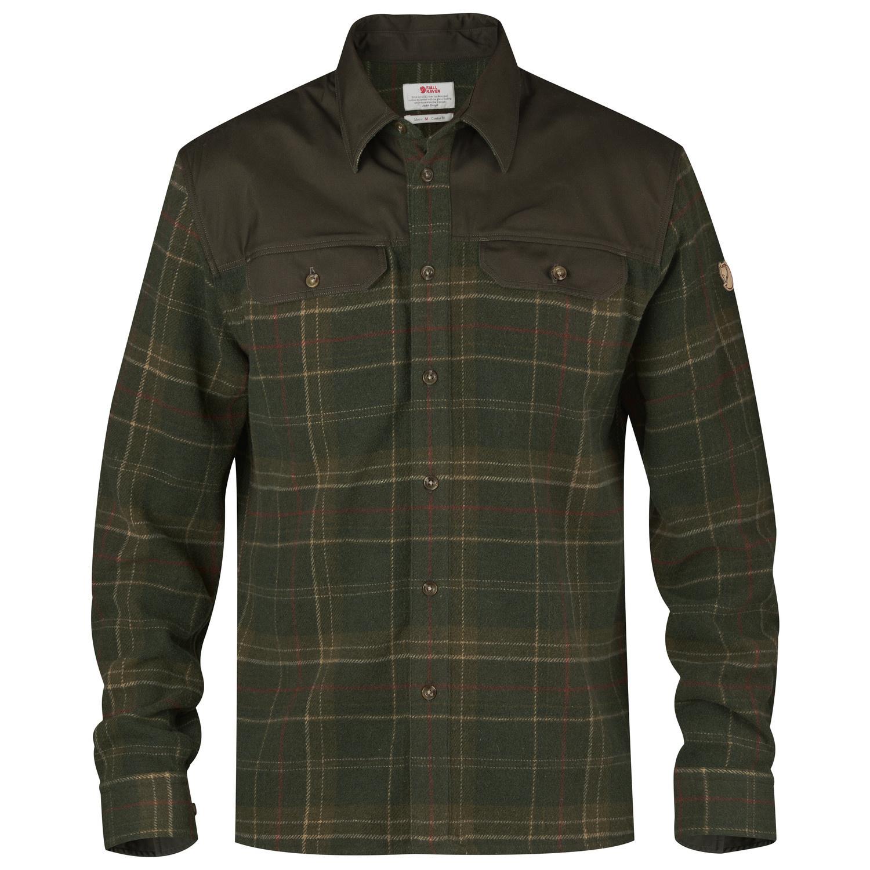 Fjällräven Granit Shirt M Green-1