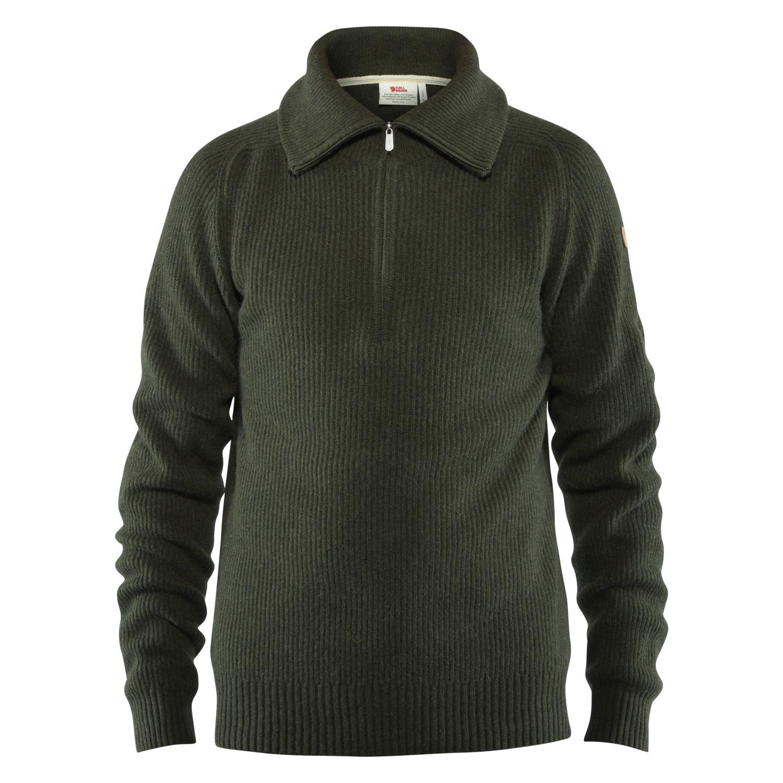 Fjällräven Greenland Re- Wool Sweater M Deep Forest-1