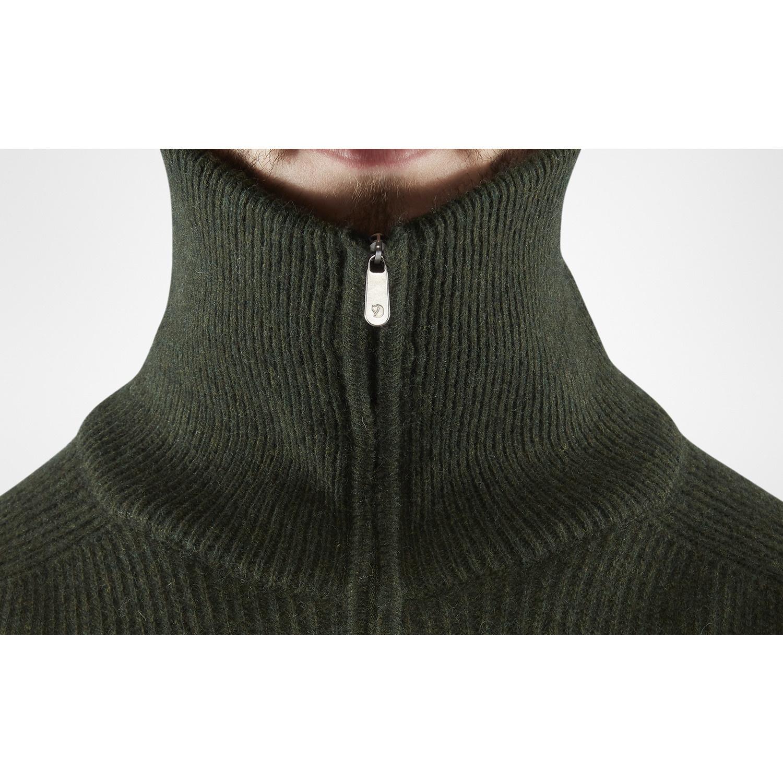 Fjällräven Greenland Re- Wool Sweater M Deep Forest-2
