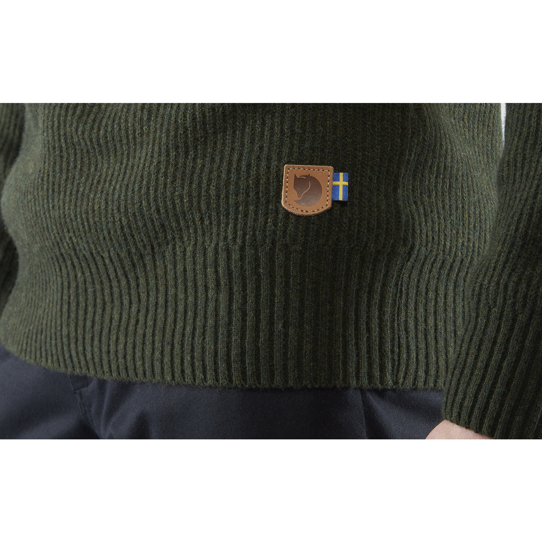 Fjällräven Greenland Re- Wool Sweater M Deep Forest-3