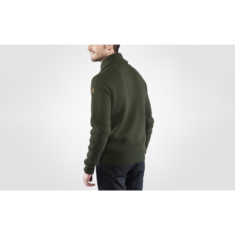 Fjällräven Greenland Re- Wool Sweater M Deep Forest-4